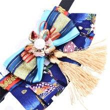 Zwierzęta domowe są LeatherTassel w stylu Kimono skórzana obroża obroża dla kota/psa szyi akcesoria kostium pies kot szaliki i muszka