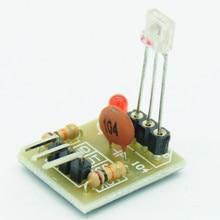 5V Laser Detector Sensor Detect Module non-modulator Tube Laser Receiver Module High Level Once Laser Light Detected For Arduino