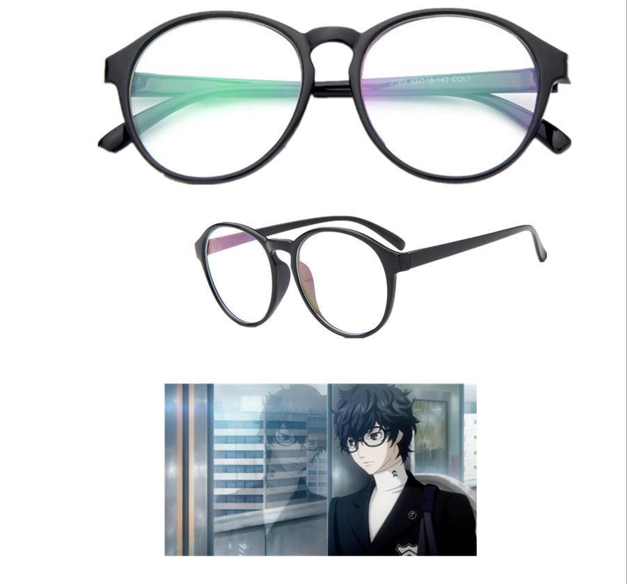 Игра Persona 5 футаба Сакура герой курюсу Акира косплей аксессуары очки опора