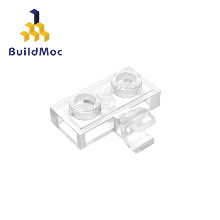 Buildmoc compatível monta partículas 11476 1x2 para blocos de construção peças diy logotipo educacional cre