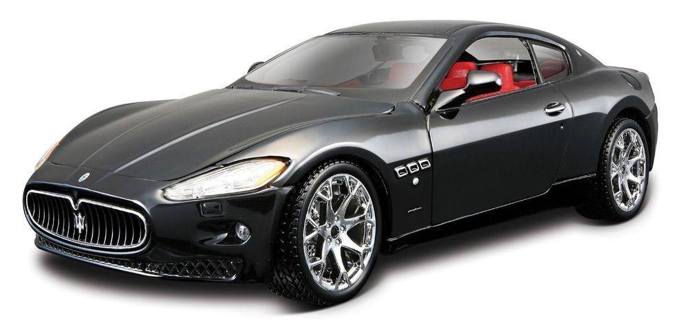 Bburago 1:24 Maserati GT Gran Turismo Diecast Model Sports Racing Car Toy NEW IN BOX