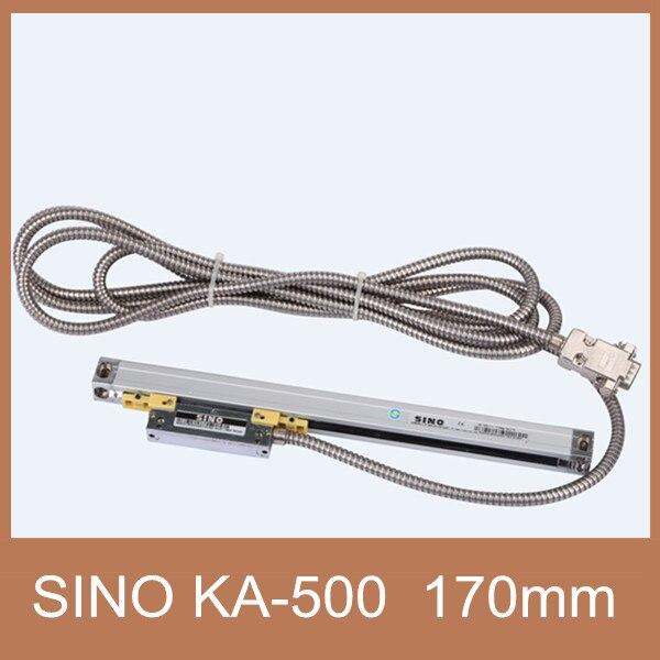شحن مجاني الخطي التشفير مقياس KA500 الصيني 170 ملليمتر الخطية الخطية التشفير قطاع KA-500 الصيني 170 ملليمتر المطلق التشفير ل cnc