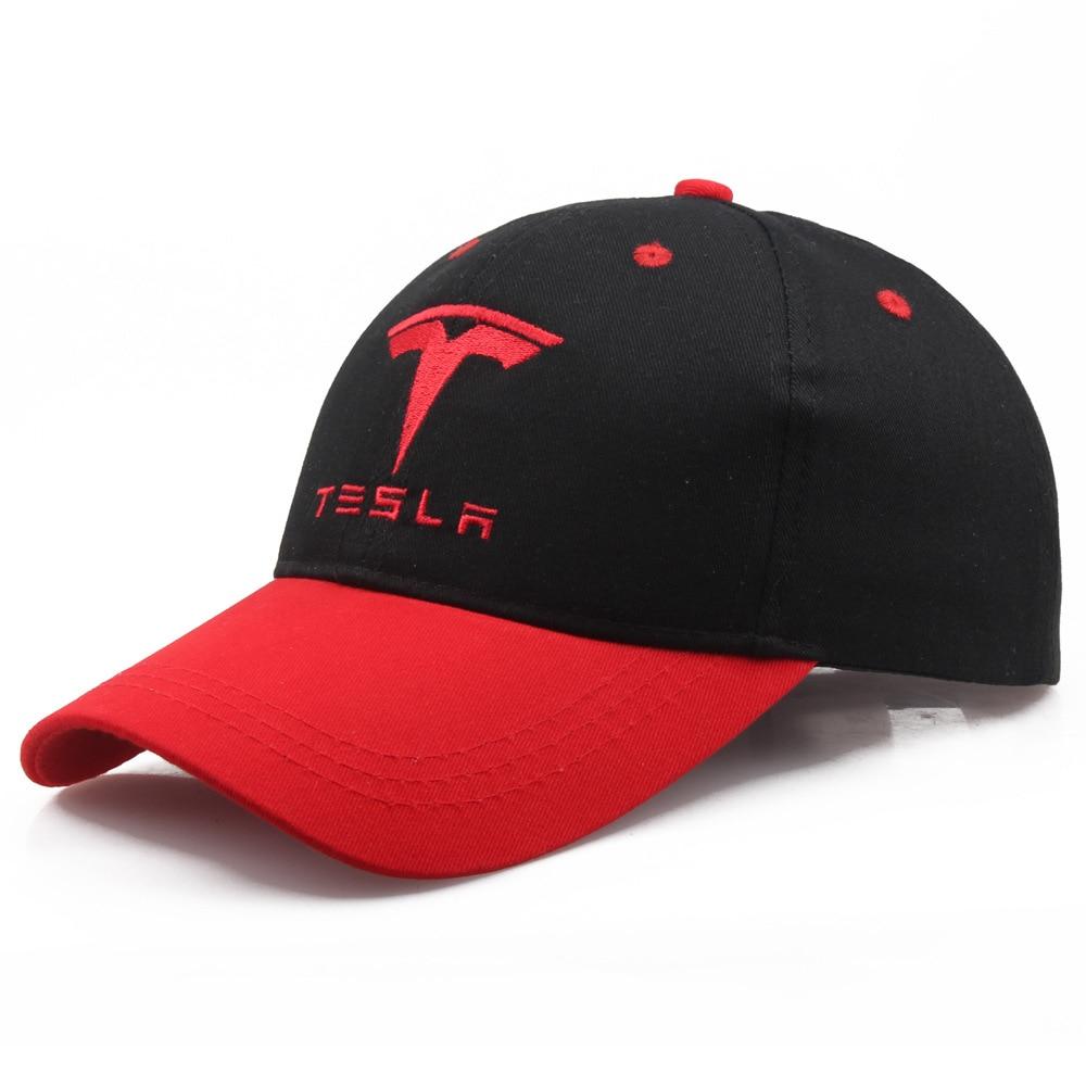 Бейсболка Тесла с логотипом автомобиля, вышивка, Повседневная бейсболка шапка, 2019 Новая мода, высокое качество, Мужская гоночная мотоциклет...