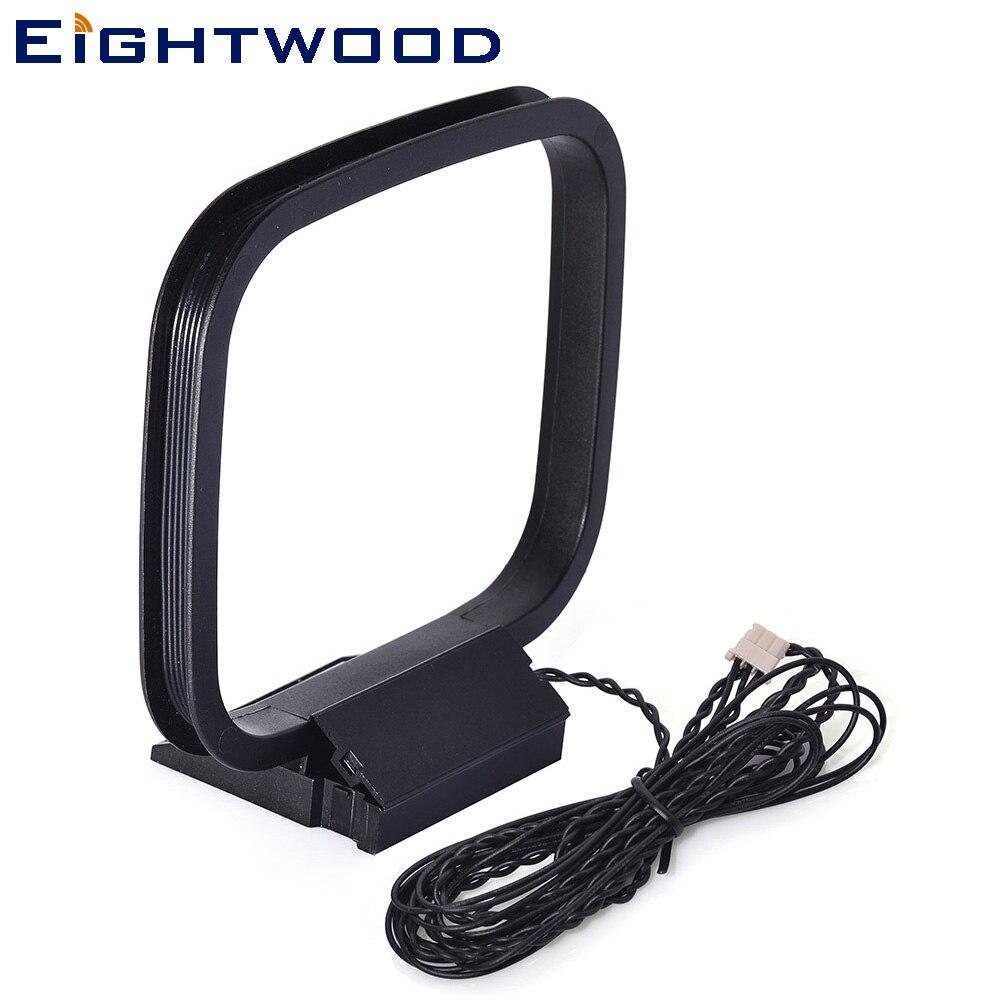 Eightwood Univers AM Loop антенна с 3-контактным разъемом для RX-V серии приемник Sony Sharp Chaine Стерео AV Приемник