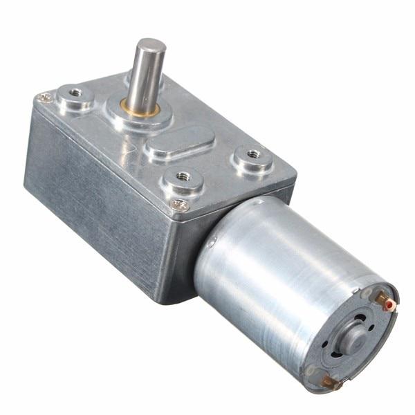 1 pcs reversível alto torque 12 v dc 200 rpm sem-fim engrenado motor redutor de engrenagem turbo motor adequado para janela