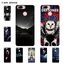 I am alone Phone Cases For ZTE Blade V9 Vita 5.45 inch Soft TPU Mobile Cartoon Printed For ZTE Blade V9 Vita Bags Free Shipping