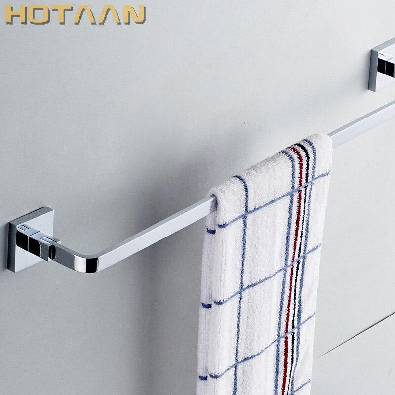"""Envío gratis (24 """",60cm) toallero individual/toallero, hecho de latón macizo, acabado cromado, accesorios para Baño"""