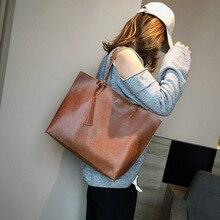 European and American fashion retro handbags women's handbag shoulder Messenger bag large capacity wild bag casual pleated bag