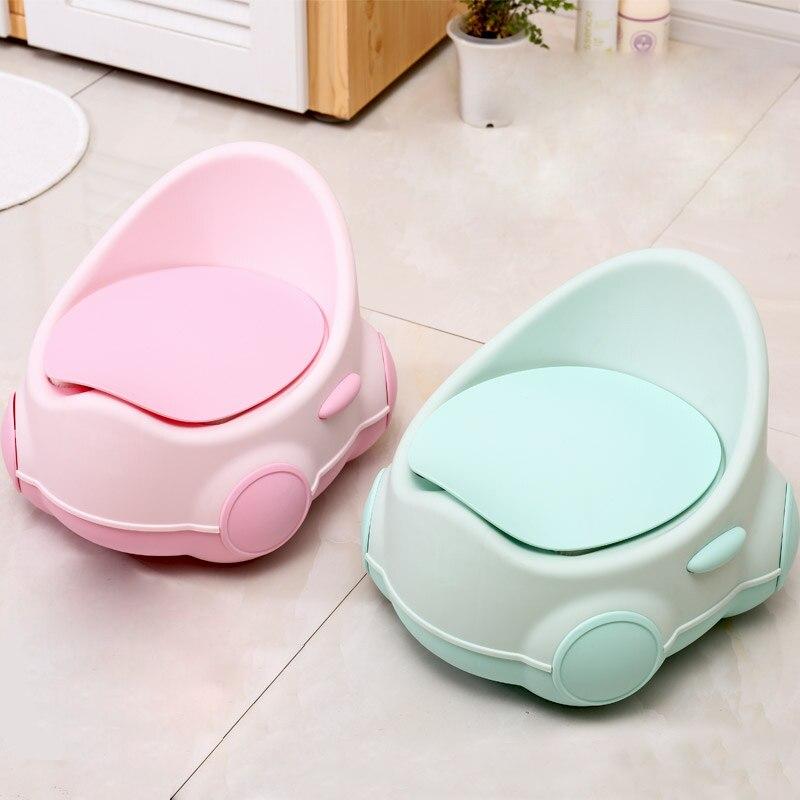 Pote barato cajón niños bebé inodoro suave niños orinal inodoro entrenador