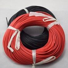 Câbles flexibles en fil de Silicone   Calibre 20m câbles en cuivre toronné pour câblage RC 12awg 14awg 16awg 18awg 20awg AWG