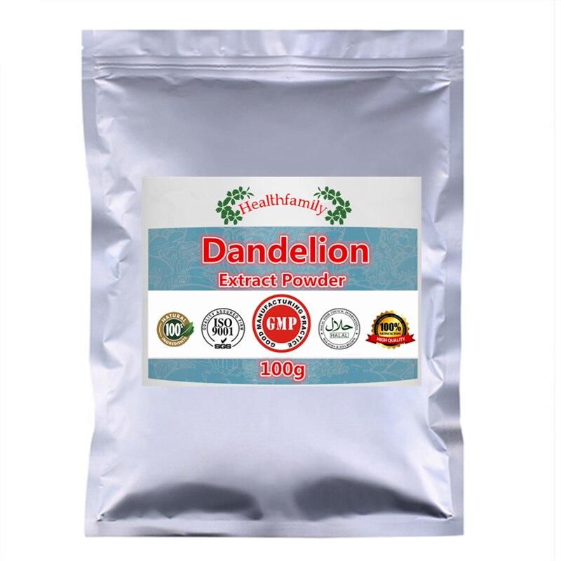 Liver Health Care,For Liver,Kidney,Gallbladder & Digestive Function Support - 100g~1000g Natrual Dandelion Extract Powder