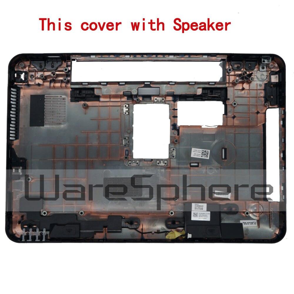 غطاء سفلي لجهاز Dell Inspiron 15R N5110 M5110 ، أسود ، مع مكبر صوت ، جديد وأصلي