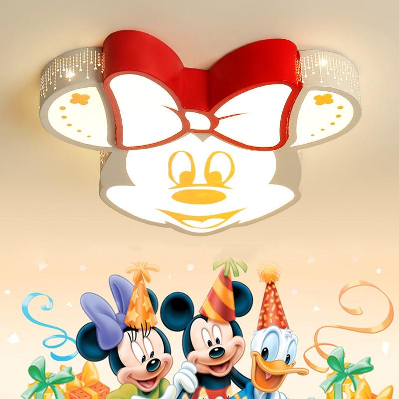 Lámpara Led de dibujos animados para habitación de bebés y niños, lámpara de techo para dormitorio infantil, lámpara para niños