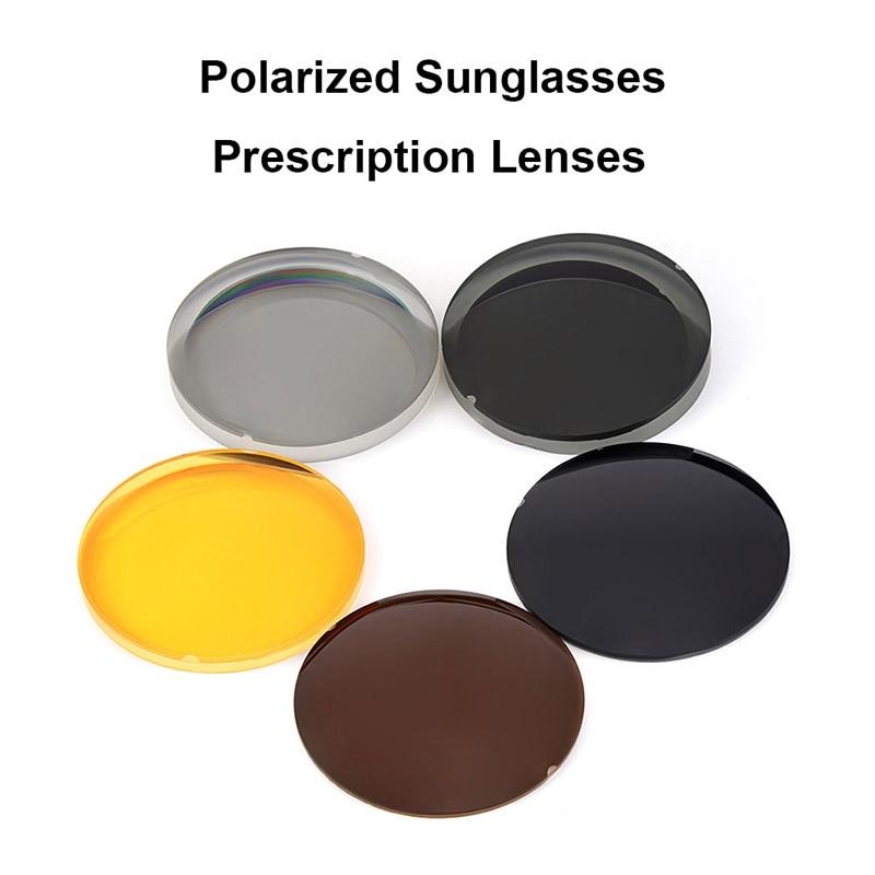 Hotony 1.499 CR-39 النظارات الشمسية المستقطبة وصفة طبية عدسات طبية للقيادة الصيد UV400 مكافحة وهج العدسات المستقطبة