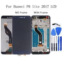 5 2 for huawei p8 lite 2017 lcd display touch screen digitizer assembly for huawei p8 lite 2017 pra la1 pra lx1 pra lx3 screen