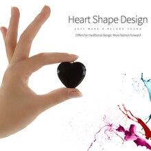 Clé en forme de coeur mini enregistreur vocal numérique chaîne activée par la voix collier pendentif