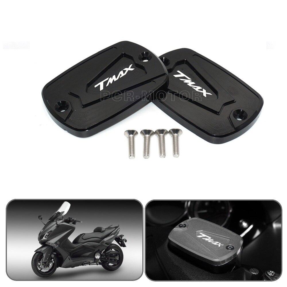 Алюминиевый красный мотоциклетный бачок для тормозной жидкости с ЧПУ, крышка топливного бака для YAMAHA T-Max 500 TMAX 500 TMax 530