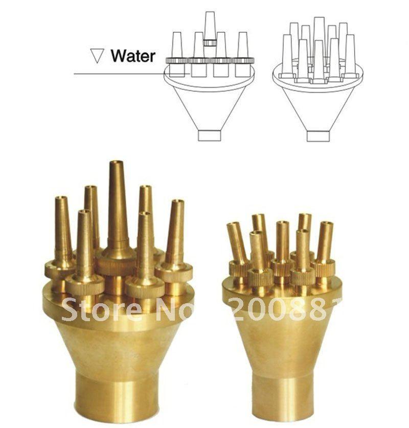 "2""  Center Straight up Fountain Nozzle"