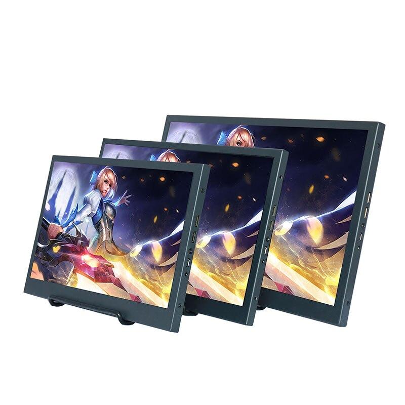ZHIXIANDA 11,6 дюймов Minini HDMI HD 1080P портативный монитор ips экран Автомобильный дисплей для PS4 xbox PC