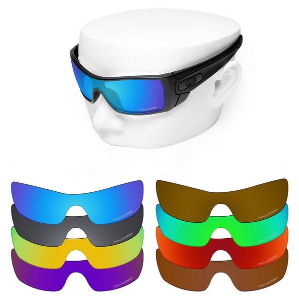 OOWLIT lentes de repuesto Anti-rasguño para gafas de sol polarizadas grabadas