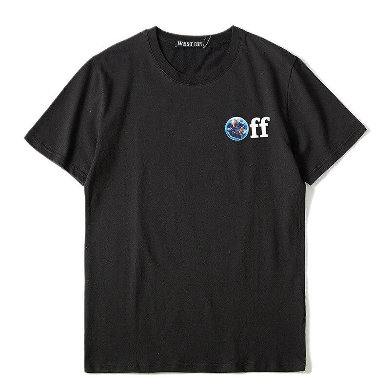¡Novedad de 2019! Camisetas de moda Punk para hombre de alto nuevo, camiseta pintura al óleo de Jesús, camisetas de Skateboard callejero de Hip Hop, camisetas de algodón K41