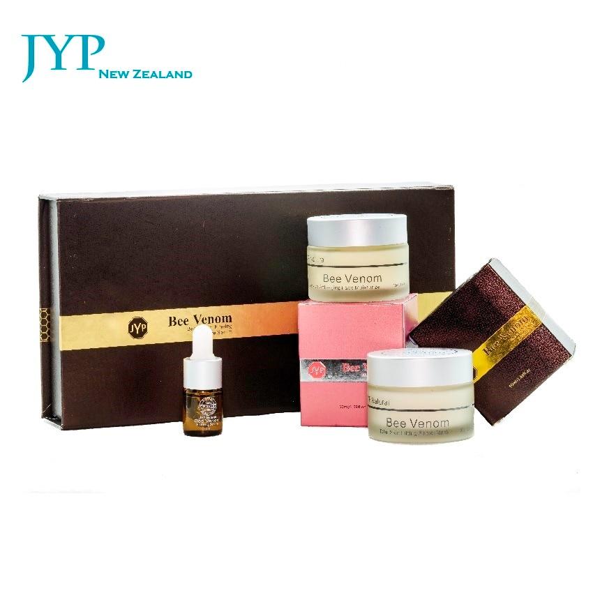 NewZealand JYP Bee Venom Skin Care Sets Mask+Moisturizing Cream+Serum Manuka Honey Facial Lift Cream Anti Aging Reduce Wrinkles
