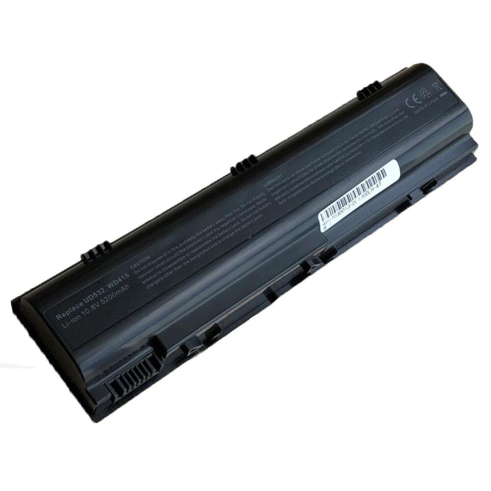 6 celdas de batería del ordenador portátil para Dell 312-0365 CGR-B-6E1XX XD184 UD535 WD416 para Inspiron BD15 312-0366 TD612 TD429 451-10289