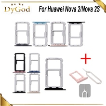 For Huawei Nova 2S SIM Card Tray Slot Holder Adapter Repair Accessories For Huawei Nova 2 With Take