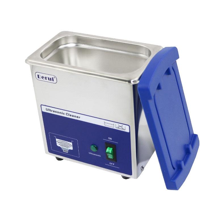 MINI máquina de limpieza por ultrasonidos limpiador de olas digital 80w gafas para el hogar reloj de joyería cepillos de dientes baño 110V 220V enchufe EU US