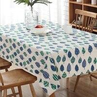 modern simple tablecloth cotton and linen printing fashion tablecloth high grade home textiles supplies tablecloths