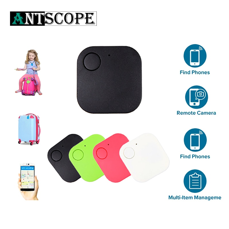 Bluetooth inteligente Anti-perdido dispositivos Gps Tracker localizador de alarma Etiqueta de teléfono móvil niño mascota cartera posicionamiento de 50