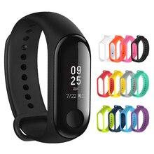 Correa de silicona duradera para reloj Xiaomi Mi Band 4, 3, 4, 5, 6, accesorios de pulsera