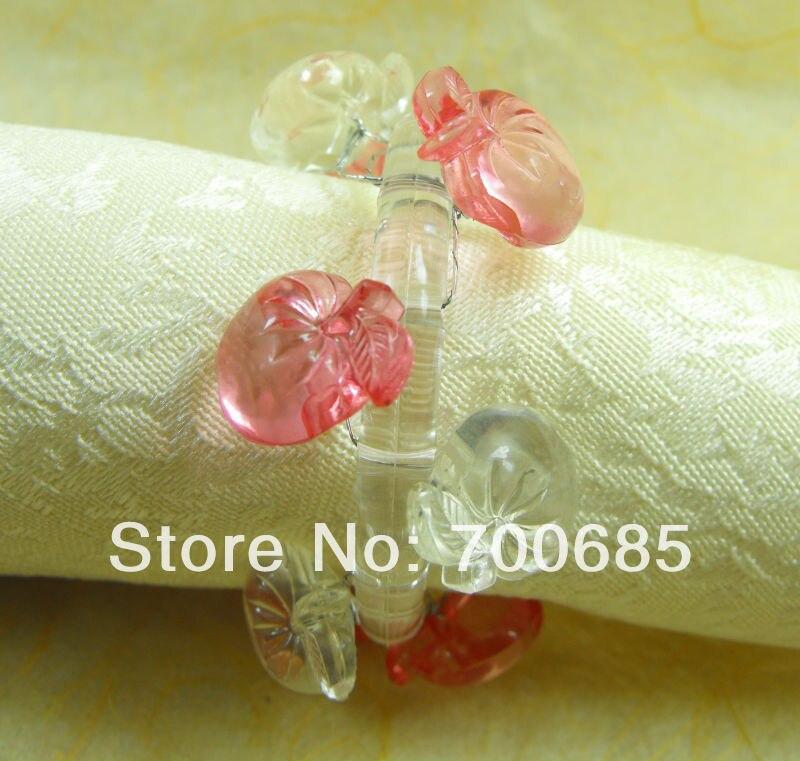 crystal napkin rings,wedding  napkin ring, decoration  napkin ring, napkin holder,