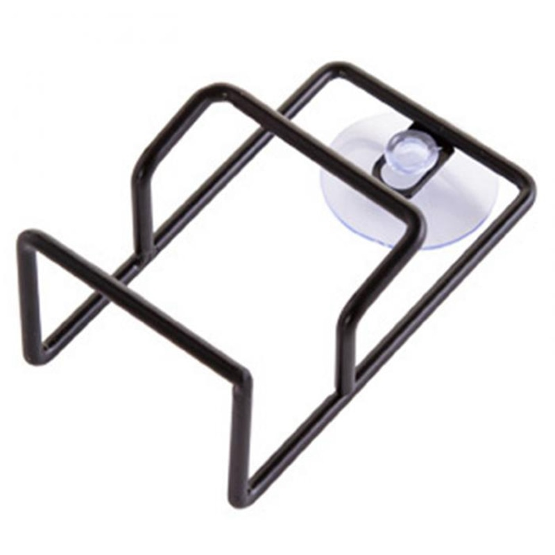 Fregadero escurridor cepillo esponja paño de limpieza estante de lavado ordenado doble capas soporte suministros de cocina