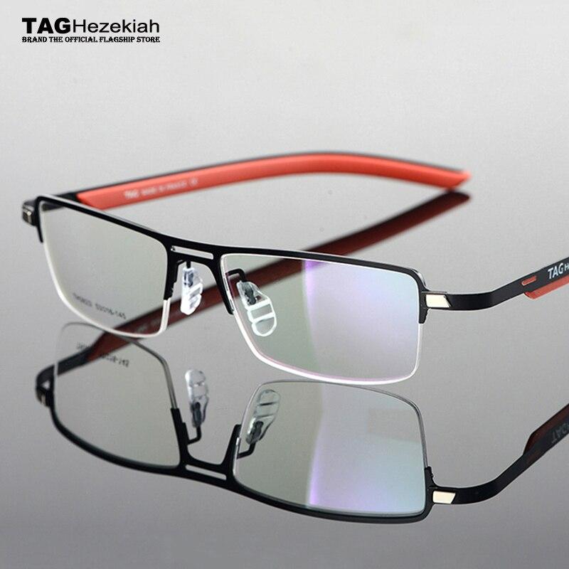 Hezekiah-monture de lunettes 2020 TAG   Cadres légers pour la myopie et pour les femmes, lunettes avec cadre élastique pour les jambes, pour lordinateur