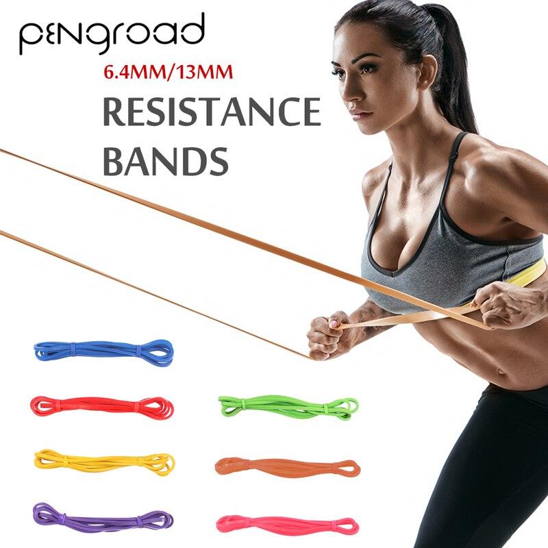 Bandas de resistencia, goma deportiva para Fitness, lazo de goma, bandas atléticas, Yoga, ejercicio, gimnasio, expansor de entrenamiento, equipos