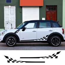 Side Skirt Body Car Decals Sticker For MINI Cooper S One JCW Countryman Clubman F54 F55 F56 F60 R55
