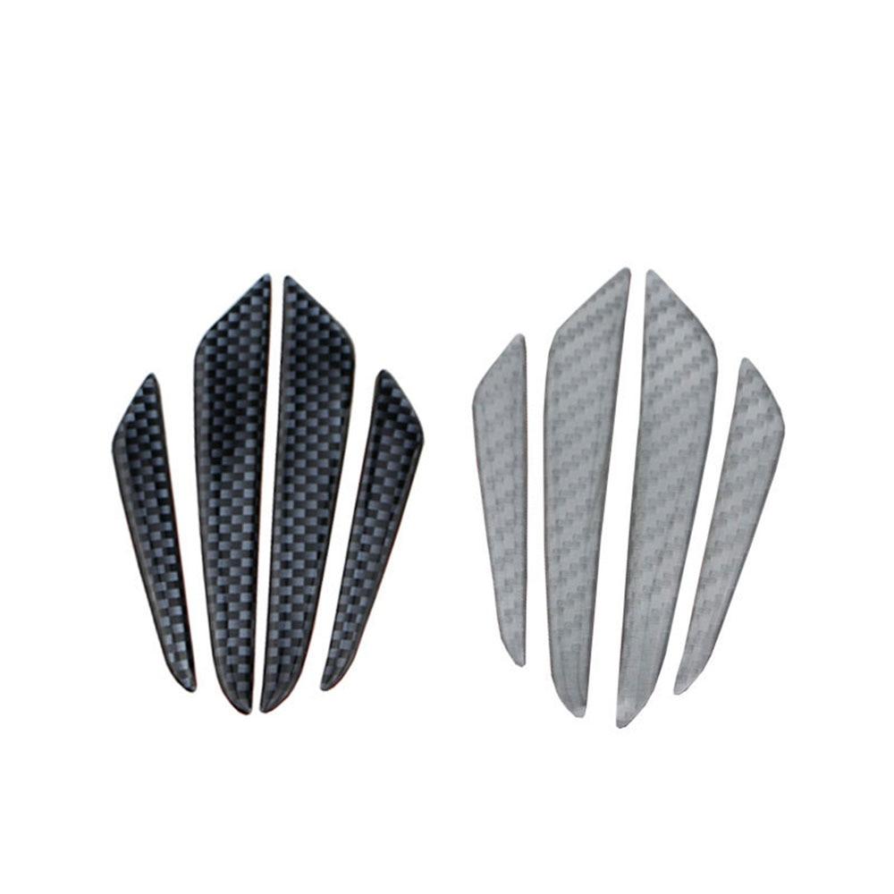 Tira de parachoques para puerta de coche de fibra de carbono para Nissan Altima Armada Juke Leaf Qashqai Murano x-trail Xtrail Sunny