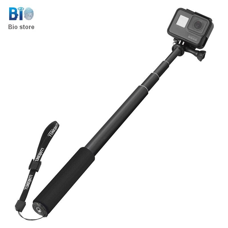[Палки для селфи Biostore] алюминиевая наклейка с таймером для камеры DV Gorpro + 2 + 3 + 4 Спортивная камера, ручные эластичные палочки для селфи