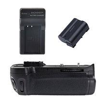 Empuñadura de batería MeiKe MK-D7000/MB-D11 para Nikon D7000 + EN-EL15 + cargador
