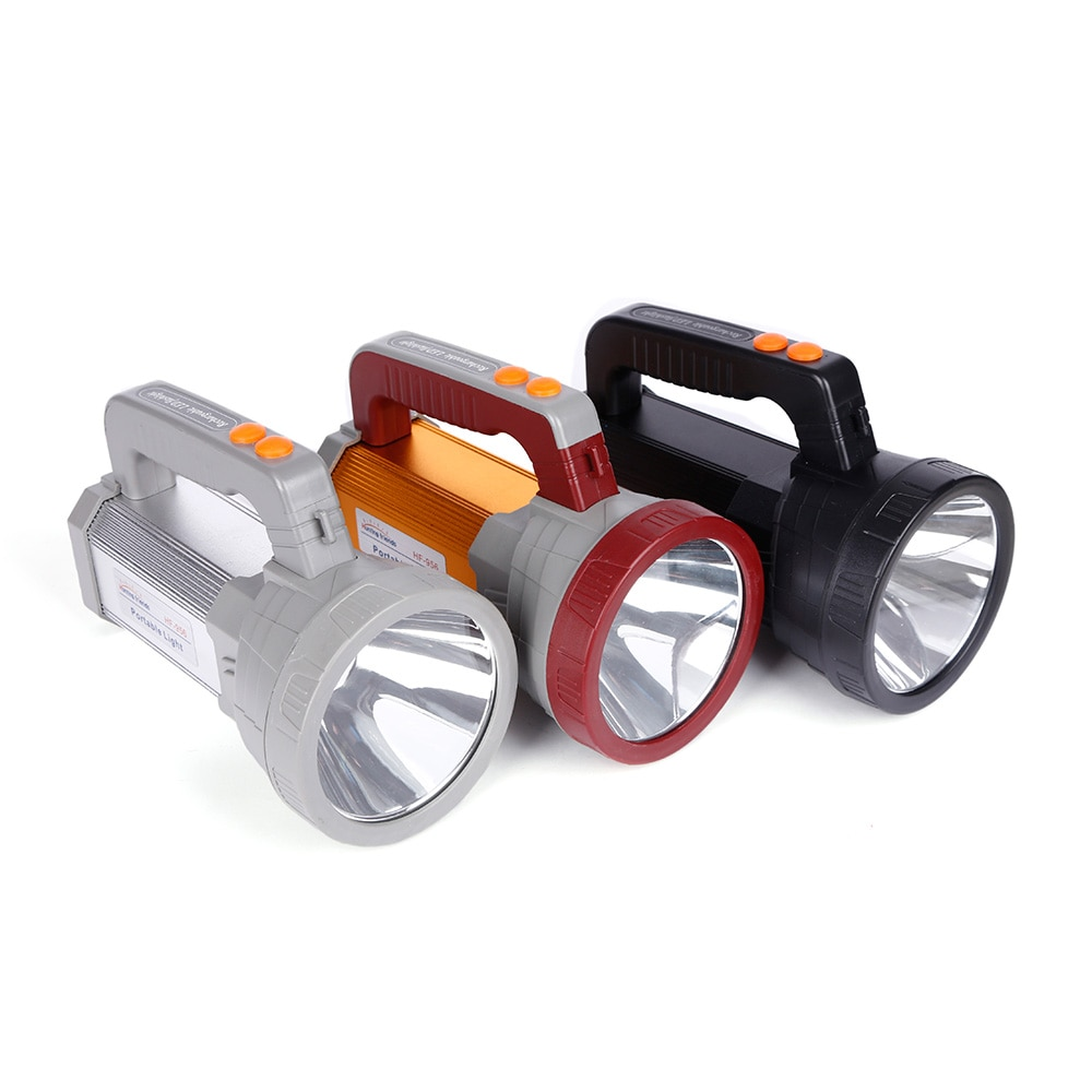 Hunting Friends Super Bright Portable Spotlight USB Port Flashlight 3 Modes Seacrchlight Built in 3x18650 Rechargeable Batteies enlarge