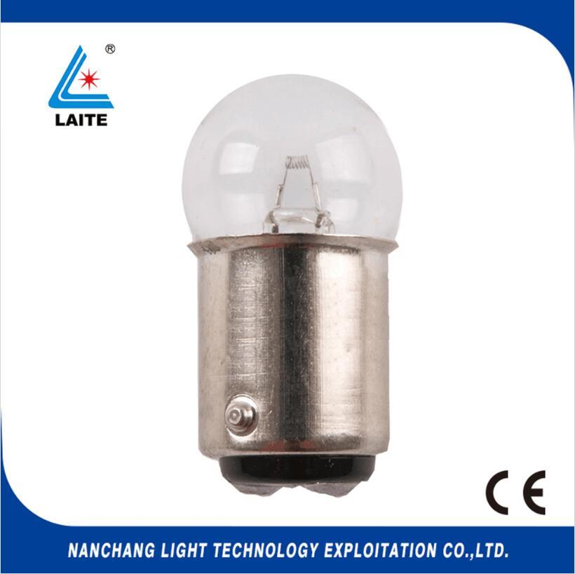 Hosobuchi op2801 6v10w BA15D halogen bulb 6v10w MI283 microscope lamp free shipping-10pcs