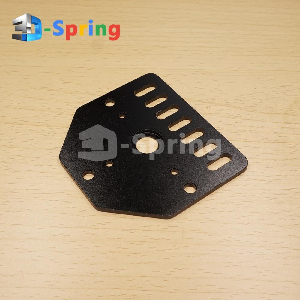 Placa de varilla roscada Openbuilds NEMA 23 montaje de Motor paso a paso Stent fijo instalación CNC de aluminio para impresora 3D