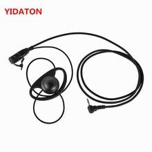 YIDATON D forme oreillette casque PTT pour Motorola COBRA Radio bidirectionnelle MH230R MS350R MS350R MR350R MT350R MD200TPR talkie-walkie