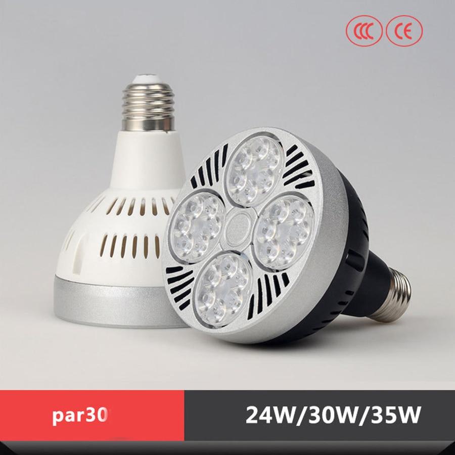 PAR30 foco LED 35 W 40 W E27 AC 220 V blanco frío blanco cálido de luz LED Osram bombilla LED lámpara focos led techo faretti para el hogar