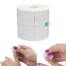 500/300/900/50/32Pcs/Roll Witte Nagellak Gel Remover Wipes Cotton Lint pads Papier Props Nail Art Tips Manicure Cleaning Doekjes
