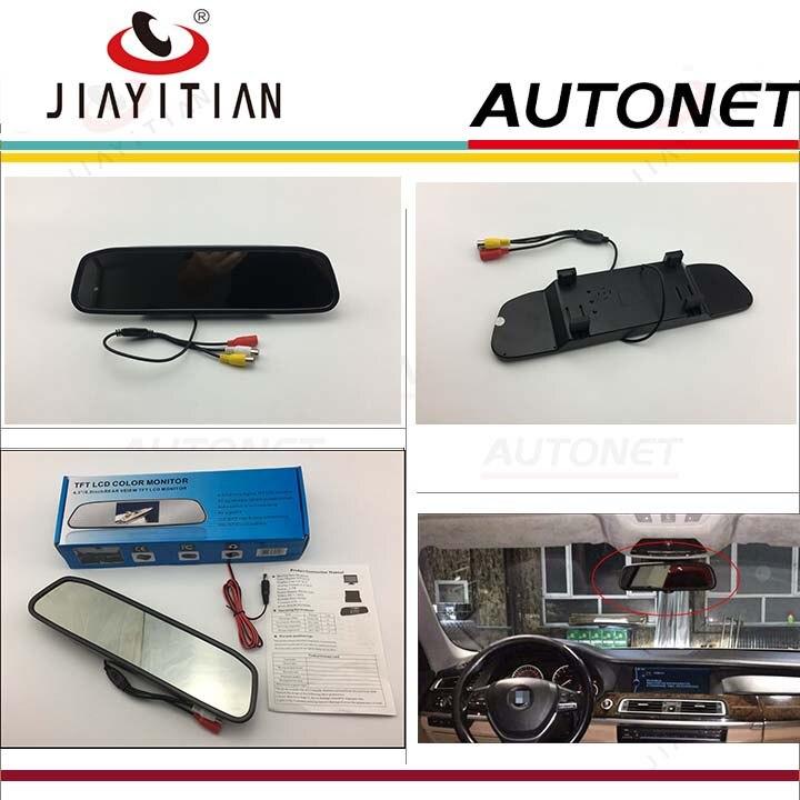 JIAYITIAN зеркало задней камеры зеркало заднего вида монитор автомобиля HD TFT LCD монитор цветной экран дисплей для заднего вида камеры DIY
