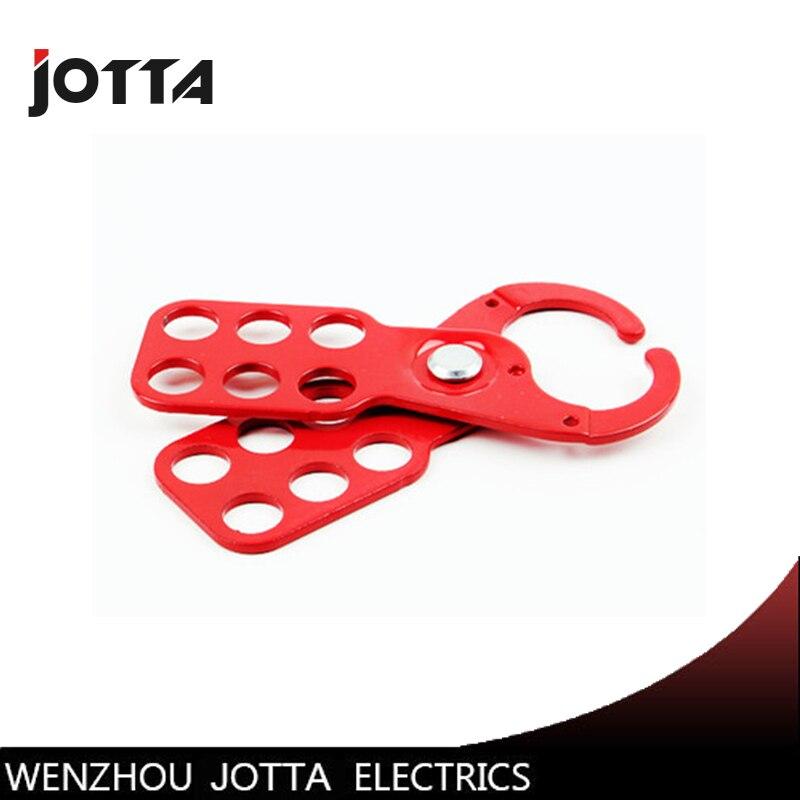 Промышленные застежки, шестиотверстия, стальная защитная застежка, диаметр 25 мм