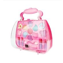 Pretend Play Girls Cosmetics Kit Toys Makeup Set Preschool Kid Beauty Toy Environmental Safety Toy For Kids Makeup Toys Tool