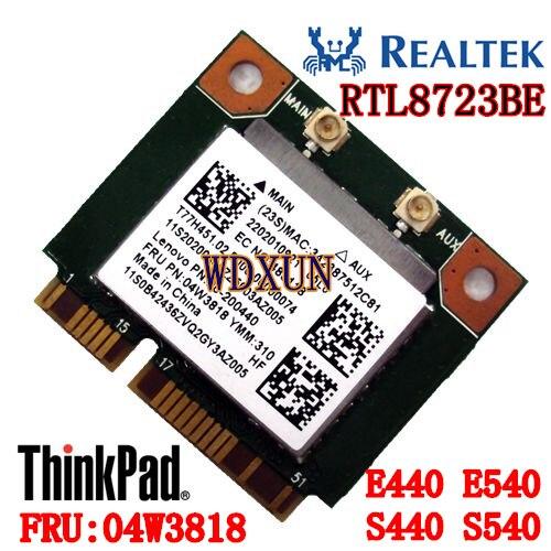Бесплатная доставка, беспроводная карта E440 E540 S440 S540 THINKPAD специальный REALTEK RTL8723BE FRU 04W3818